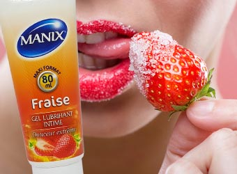 Manix tube Fraise