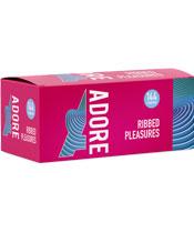Adore Condoms Ribbed Pleasure (par 144)