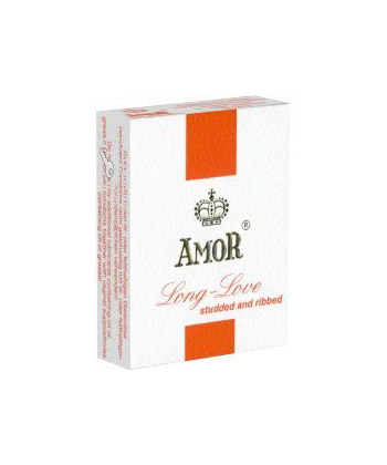 Amor Long Love Studded & Ribbed x3