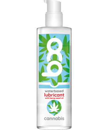 Boo Waterbased Lubricant Can*abis