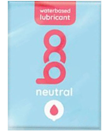 Boo Waterbased Lubricant Neutral (unité)