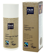 Fair Squared Argan Massage Oil Together