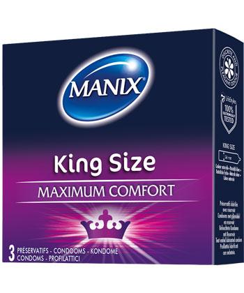 Manix King Size x3