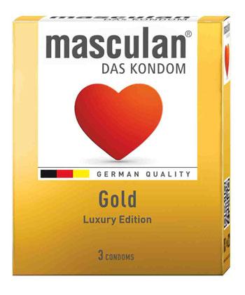 Masculan Gold x3