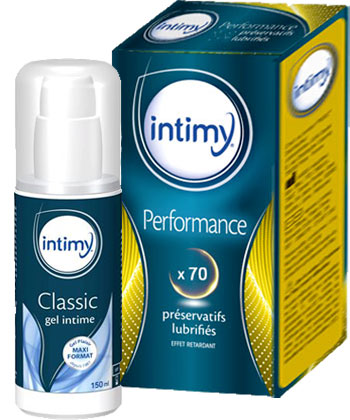 Intimy Performance + Gel Lubrifiant Intime